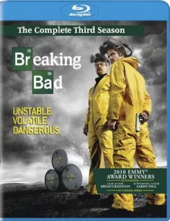 NEW Breaking Bad The Complete Third Season (Blu ray, 2011, 3 Disc Set
