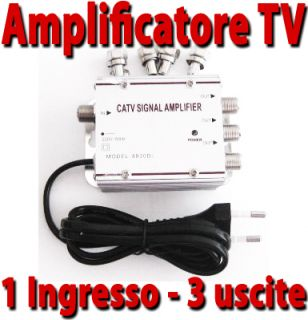 Amplificatore Segnale Antenna TV Digitale Terrestre