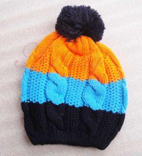 Children Baby Kids Toddler Boys Girls Lovely Knitted Warm Winter