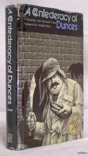 Confederacy of Dunces   John Kennedy Toole   Second Printing   1980