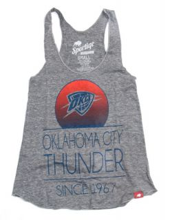 Oklahoma City Thunder Womens Malibu Tri Blend Tank