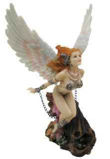 Winged Guardian Angel Statue Figurine Sexy Valkyrie
