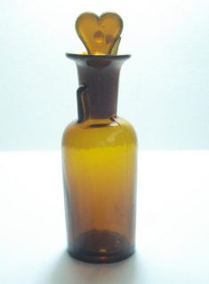 19c Antique Drip by Drop Anesthesia Chloroform Bottle