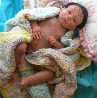 Reborn Baby AA Biracial Baby Boy Angelo Heaven Scent Baby Nursery