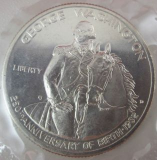 1982 Half Dollar George Washington 250th Anniversary Coin