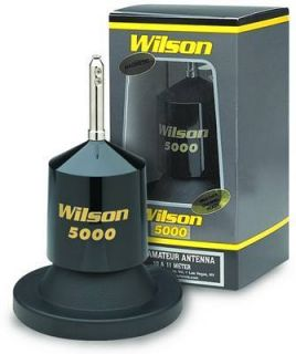 New Wilson 5000 Magnet Mount CB Ham Radio Antenna