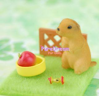 Pet Animal Puppy Mole Rat 1 12 Dollhouse Miniatures PA002