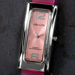 Womans Watch Anya Ladies Watch Pink Strap Pink Dial