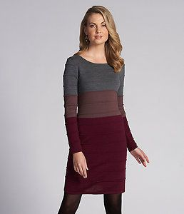 Antonio Melani Lucia Long Sleeve Wool Knit Sweater Dress Size XS NWT $