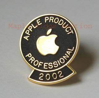 Apple Computer Apple Product Professional 2002 Pin Award Certification