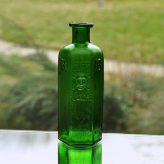 Poison RARE Bottle Gift Flasche German Association of Pharmacists