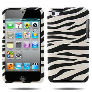 Cell Phone Case for Apple iPod Touch 4Gen Zebra Print