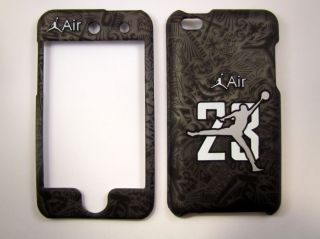 Jordan Retro Apple iPod Touch 4 Faceplate Case Cover Snap On