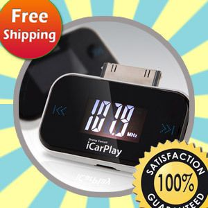 New FM Transmitter for Apple iPod Touch iPhone 4 3G 4S KPOP iCarPlay