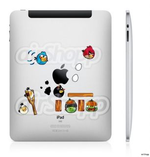 Angry Birds Apple iPad 2 The New iPad 3 Decal Sticker Skin Cover for
