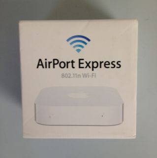 Apple AirPort Express 2 Port 10 100 Wireless N Router MC414LL A Newest