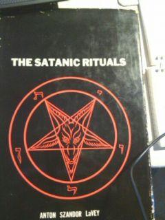 Satanic Rituals 1st HB RARE Anton lavey Church of Satan