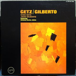 STAN GETZ JOAO GILBERTO antonio carlos jobim LP VG+ UMV 2099 Japan