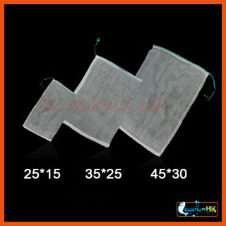 10pcs x Filter Net Bag For Aquarium Filter Media Bio Ring & Bio Ball