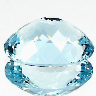 Dazzling Natural Earth Mined RARE AAA Medium Blue Aquamarine