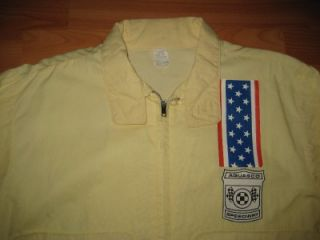 Vintage 1960s Aquasco Speedway Hot Rod Car Club NHRA Jacket
