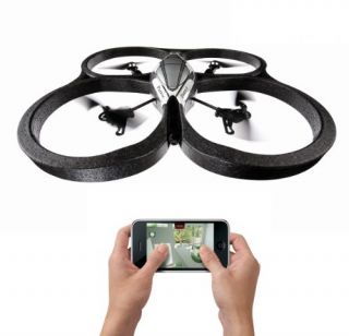 Parrot AR Drone Quadricopter Remote Control by Smart Phone/Tablet   As