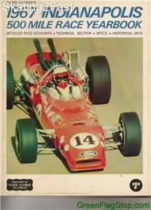 1967 Indianapolis 500 Floyd Clymers Yearbook History A.J. Foyt Coyote