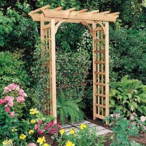 ft. Western Red Cedar Pergola Garden Arbor Outdoor Furniture