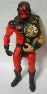 WWF Attitude Era World Action Figure Belt Painted The Rock Stone Cold