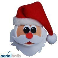 Santa Father Christmas Car Aerial Ball Antenna Topper