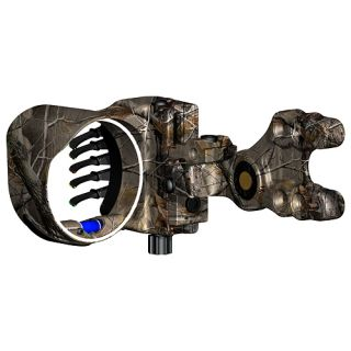 G5 Archery Optix LE 5 Pin Bow Sight .029 RH Realtree AP Camo