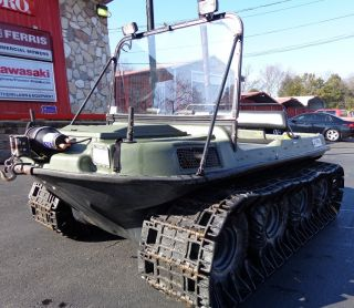 Used 8x8 Argo Response 18 HP Vanguard Engine w Tracks Windshield