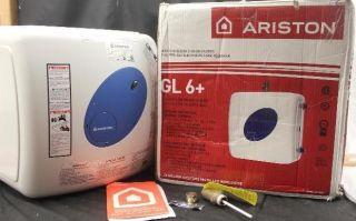 ariston 6gallon point of use indoor electric mini tank water heater