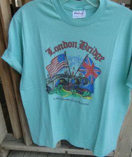 Vintage Lake Havasu City Arizona London Bridge T Shirt Womens Large