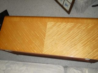 art deco waterfall antique lane bedroom cedar blanket chest