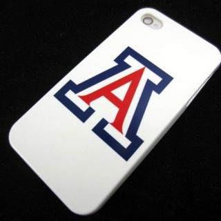 Apple iPhone 4 4S 4G Arizona Wildcas Rubber Silicone Skin Case Phone