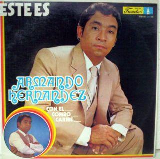 Armando Hernandez Con El Combo Caribe Colombia LP