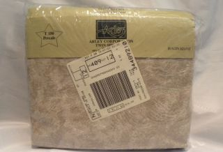 Twin Sheet Set Brown Multi Percale by Arley New