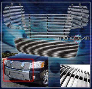 04 07 Nissan Titan Armada Le SE XE 4DR 5 6L V8 Upper Bumper Billet