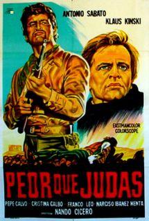 Due Volte Giuda Antonio Sabato Nando Cicero 1969 Movie Poster 27515