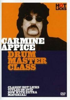 Carmine Appice Drum Master Class DVD Music Instruction