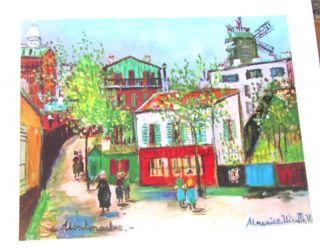 Print Of Painting By Maurice Utrillo Vins Et Liqueurs Montmartre