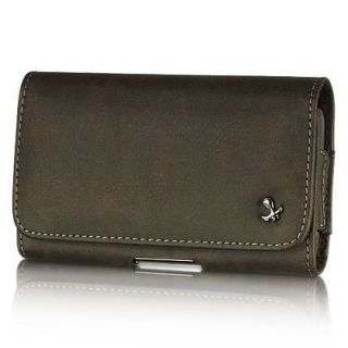 Leather PREMIUM cell phone POUCH Belt Clip Case for Apple iPHONE 3G