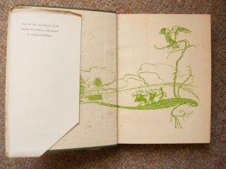Alice in Wonderland Lewis Carroll Colour Plates Arthur Rackham 1949 Ed