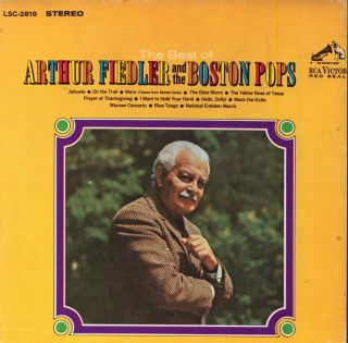 Arthur Fiedler Boston Pops ORCH Best of RCA Stereo 7 1 2 IPS Reel to