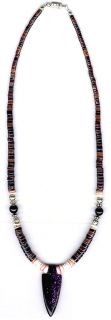 Mens Womens Navajo Necklace 10 Native American Jewelry