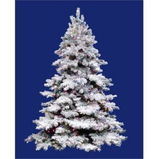 Artificial Christmas Tree With 600 Mini Multi Color Lights