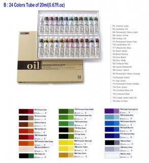 oz Artists Oil Colors Painting Set Professional Oil Paints