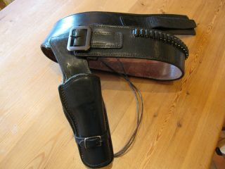 Western Fast Draw Hollywood Holster Black R Hand Arvo Ojala