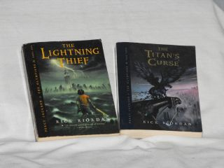 Percy Jackson and the Olympians Books Book 1 Book 3 by R Riordan